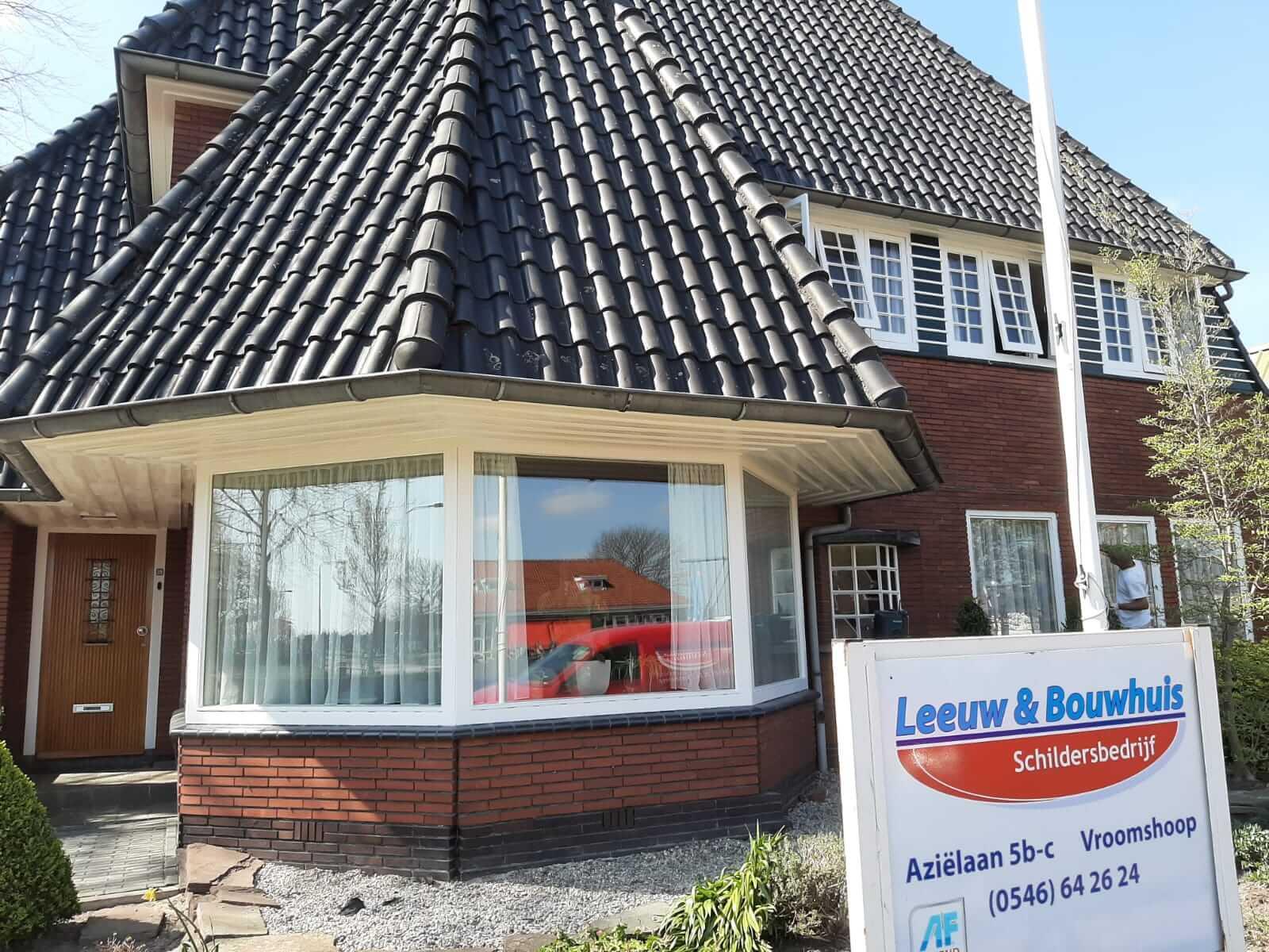 Onderhoud woning - Schildersbedrijf Leeuw & Bouwhuis