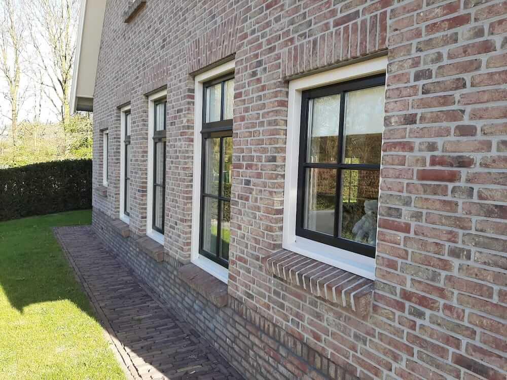 Schilderwerk close-up - Schildersbedrijf Leeuw & Bouwhuis Vroomshoop