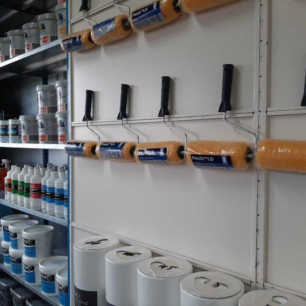 Verfwinkel Vroomshoop - Schildersbedrijf Leeuw & Bouwhuis